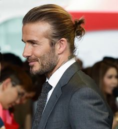 cool David Beckham Nailed The World's Trickiest Hairstyle