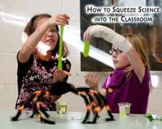 How to Integrate and Squeeze Science Into the Classroom | Steve Spangler Science