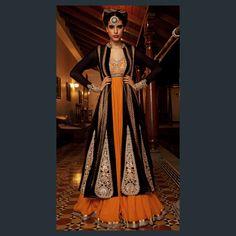 Indian Bridal Fashion Campaign by Designer Nivedita Saboo India Fashion, Ethnic Fashion, Asian Fashion, London Fashion, Anarkali Dress, Lehenga Choli, Long Anarkali, Bridal Lehenga, Indian Attire
