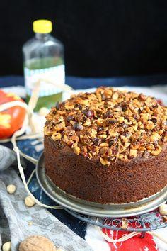 Freekeh Pumpkin Streusel Cake