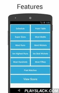 Cricket Live Score & Schedule  Android App - playslack.com ,  Cricket Live Score & Schedule is the best app to get the updates of ipl on your Android mobile.✔ Cricket Live Score & Schedule app you will get live updates on all the formats of Cricket like ODI, Test, T20, IT20, League, IPL, cricket cup 2016, ipl8 as well as all the international series.✔ All the latest things about international and domestic cricket series like Indian T20 League, World T20, Champions League Twenty20…