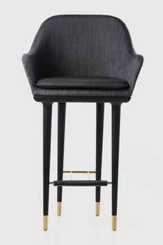 lunar bar stool