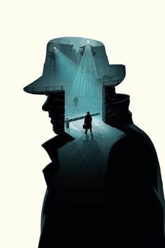 Bridge of Spies (2015) ~ Minimal Movie Poster (artist unknown) #amusementphile