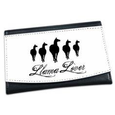 Llamas Llama Lover Mini Wallet on CafePress.com