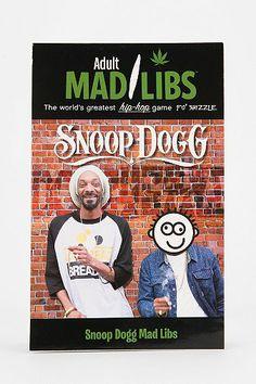 Snoop Dogg Mad Libs By Sarah Fabiny