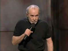 FOUR GROUPS THAT GOTTA GO.  Genius.  George Carlin's very witty and cynically snippy solution to our overcrowded prison problem.