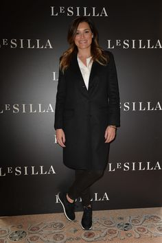 MILAN, ITALY - FEBRUARY 28 2015: Alena Seredova attends the Le Silla - Fall Winter 2015 Collection Presentation as part of Milan Fashion Week Womenswear Fall Winter 2015 on February 28, 2015 in Milan, Italy.