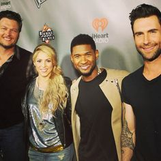 Coaches at #TheVoice Top 12 celebration!