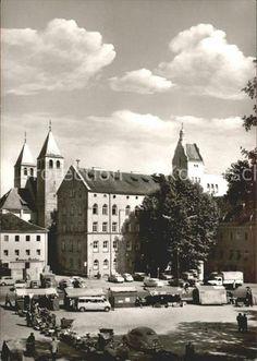 Regensburg Pfarrkirche und Institut Niedermuenster Kat.