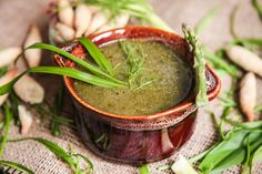 Extra Healthy Detox Wild Garlic Soup   Berries and Spice Garlic Soup, Wild Garlic, Healthy Detox, Taste Buds, Moscow Mule Mugs, Berries, Spices, Tableware, Soups