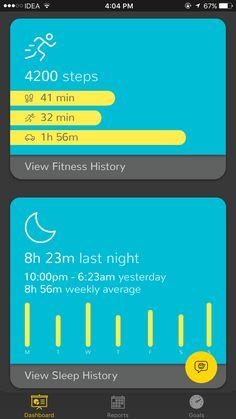 Your Life On A Dashboard  Device Usage App Usage sleep fitness places