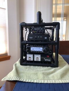 This page is a parking lot for photos of my various radio setups and projects. Ham Radio Kits, Radios, Mobile Ham Radio, Ham Radio Equipment, Go Kit, Qrp, Mobile Gadgets, Samsung Mobile, Mechanical Design