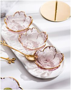 Dessert Bowls, Dish Sets, Glass Dishes, Glass Bowls, Glass Material, Nordic Style, Tea Cups, Sweet Home, Tableware