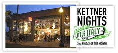 Kettner Nights happens the 2nd Friday every month. Thinking Project X Art Gallery needs to re-emerge from it's sleepy coma.