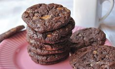 Sweet Cakes, Sweets, Cookies, Chocolate, Cream, Desserts, Biscotti, Food, Crack Crackers