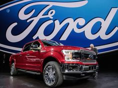 The 2018 Ford F-150 gets a fresh update at @naiasdetroit. (Photo: Ryan Garza, USA TODAY Network)  usat.ly/2jjbInh #ford #fordf150 #f150 #naias #naias2017 #detroitautoshow #cars #pickup #catsofinstagram