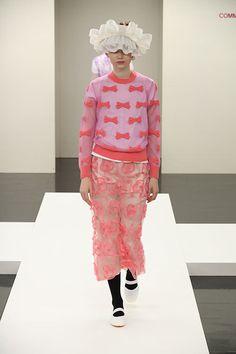 トリコ・コム デ ギャルソン 2017年春夏コレクション - 春風のように軽く穏やかに   ニュース - ファッションプレス