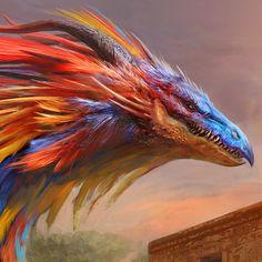 Quetzalcoatl, Antonio J. Manzanedo on ArtStation at https://www.artstation.com/artwork/rnWdG