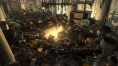 Hoarders, Skyrim edition. you're my hero. I so want to try this on my game.