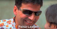 Akshay Kumar Schemeposting is a Facebook group that is focused on memes featuring Akshay Kumar. The scheme in Schemeposting is based on Akhsay Kumar's character in the 2007 movie, Phir Hera Pheri (sequel to Hera Pheri). In the movie, Raju (Akshay Kumar) falls for a money-making scheme and then tries to sell similar schemes to other gullible people like Rajpal Yadav as shown in this template: #AkshayKumar #Bollywood #PhirHeraPheri #Welcome #Ajnabee #MujhseShaadiKarogi #GaramMasala…