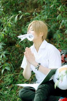 Natsume Yuujinchou's Natsume Takashi Cosplay
