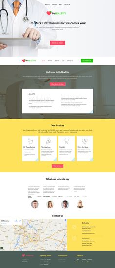 Medical Responsive Moto CMS 3 Template #58682 http://www.templatemonster.com/moto-cms-3-templates/58682.html