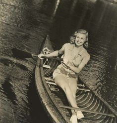 Let's go canoeing in style... (Ginger Rogers)