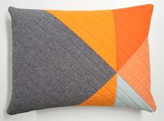 Modern Decorative Lumbar Pillow - Pinwheel (B)
