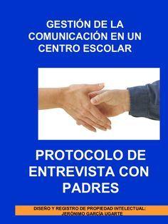 Protocolo y material de entrevista tutores - padres en un centro esc…
