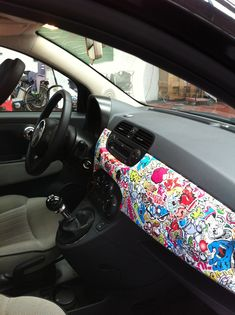 Car wrap  new fiat 500 www.daddario.it