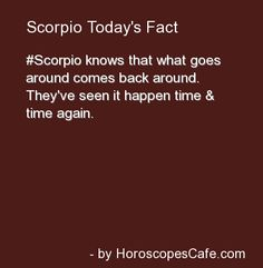 Scorpio Daily Fun Fact