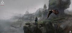 Assassin's Creed Rogue, Yaroslav Odnorogov on ArtStation at https://www.artstation.com/artwork/assassin-s-creed-rogue-481a4b23-c93f-4eb0-804a-14f4b16e332b