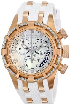 Invicta Women's 6951 Reserve Collection Bolt Chronograph White Polyurethane Watch Invicta,http://www.amazon.com/dp/B003UNSD58/ref=cm_sw_r_pi_dp_WP0Htb1A9BBKY3XD