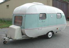 Retro Caravan, Vintage Rv, Vintage Trailers, Rv Campers, Camper Van, Eriba Puck, Airstream Interior, Tortoises, Back To Nature