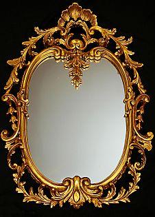 Italian style wall mirror.
