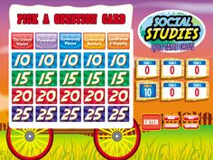 Math Quiz Interactive Game Show - Gr. 1-3 at Lakeshore Learning ...