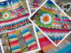 Crochets et plus: Crocheted Skirt