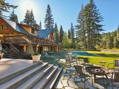 Leavenworth Vacation Rental - VRBO 207995 - 7 BR  12 Acres of Riverfront Sleeps 28
