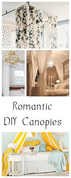 Romantic DIY Canopies on a Budget • Tips & Ideas!