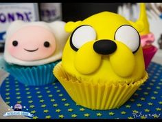▶ #DIY Adventure Time - Finn And Jake Cupcakes #Tutorial