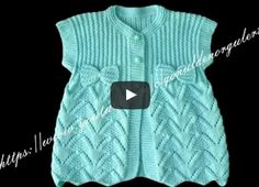 Bebek yeleğinin her aşamasını anlatan 2 video yayınlıyorum. Özellikle ör… I'm publishing two videos about each stage of the baby vest. Baby Cardigan Knitting Pattern, Knitted Baby Cardigan, Knitted Baby Clothes, Baby Knitting Patterns, Knitting Designs, Baby Patterns, Crochet Patterns, Diy Crafts Dress, Diy Dress