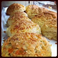 Cheese scones Cheese Scones, Carriage House, Bread Recipes, Bakery, Queen, Bakery Business, Car Garage, Bakeries