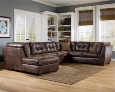 Frontier - Canyon Sectional with Chaise by Signature Design by Ashley