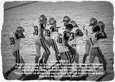 Football Isaiah 40:29-31 #Football #Scripture #TinCanApparel
