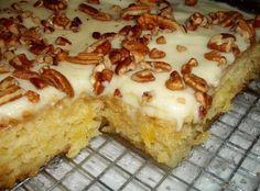 "Recipes 17 |   The Original ""Easiest Pineapple Cake"""