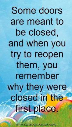 Look forward....