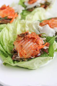 pork belly lettuce wraps!!
