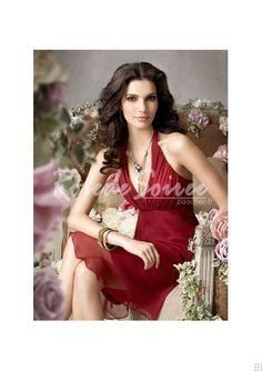 Robe de Soirée Courte-T SUR MESURE SIMPLE SOIR robe faite AXED03