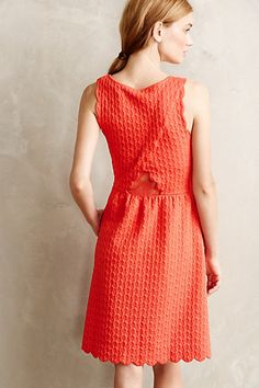 Caye Scalloped Dress - anthropologie.com