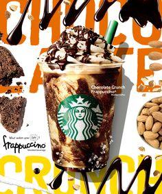 スターバックス「チョコレート クランチ フラペチーノ®」中身は二枚目オトナの男 | COCOLO CHRONICLE